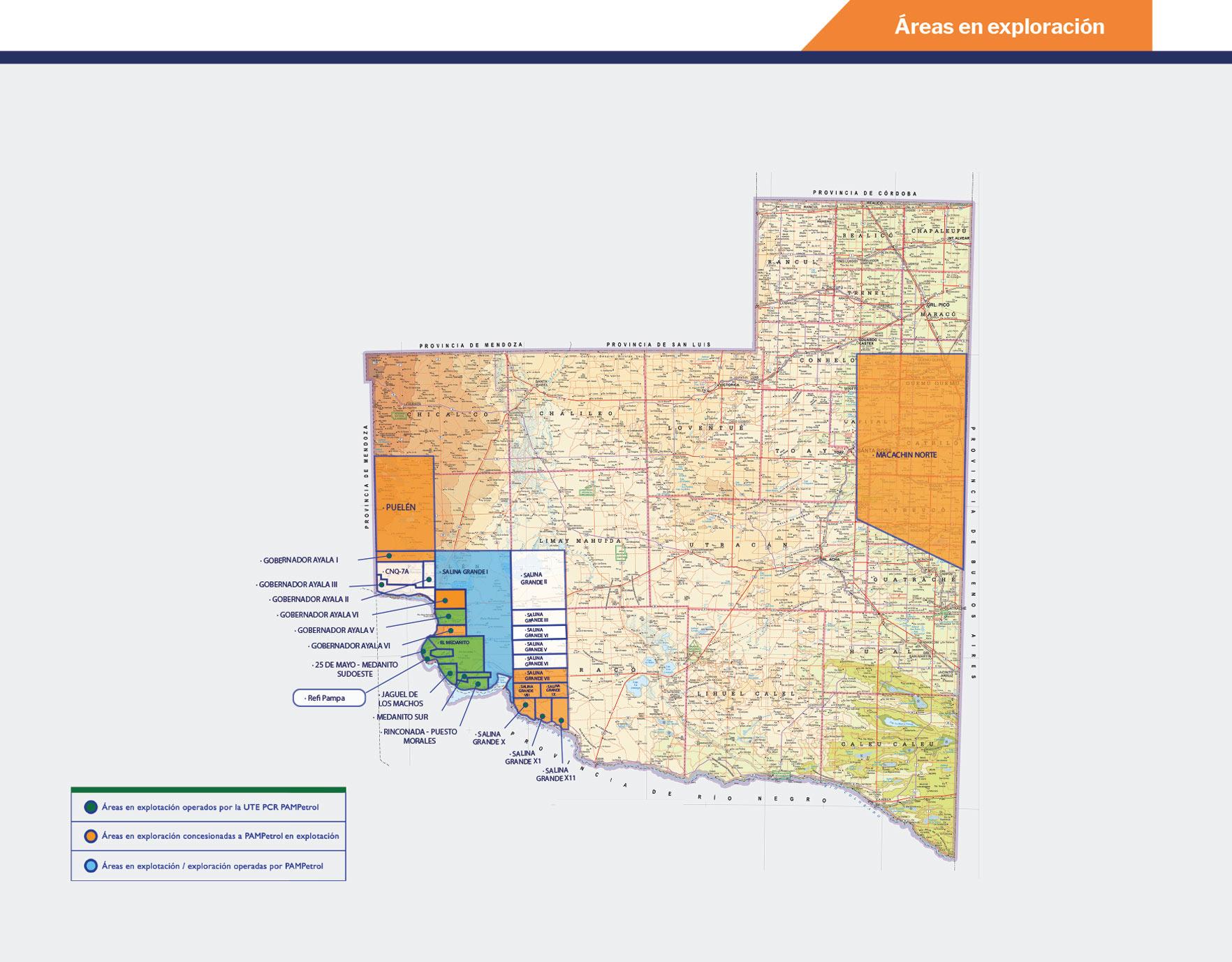 Mapa Interactivo La Pampa